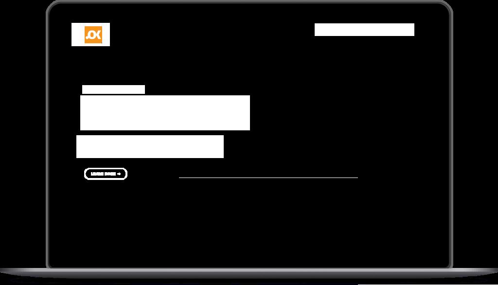 """Optimizacija za sve uredjaje, crni laptop na kome piše """"Prilagođeno svima i na svim uređajima"""""""
