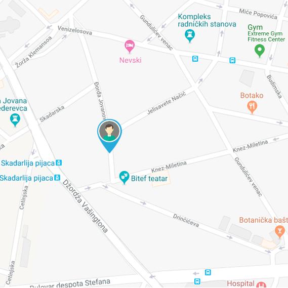 Izrada sajta NaKlik - Lokacija posetioca