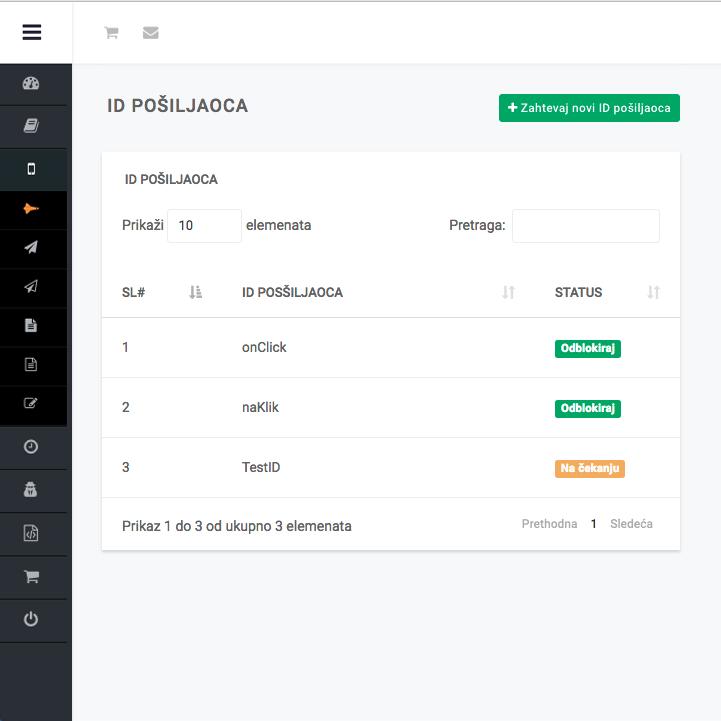 Izrada sajta NaKlik - Kreiranje šablona
