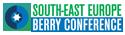 Zeleno plavo beli logo za konferenciju Berry Conference a iznad koje piše South-east Europe