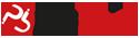 Crveni krug sa urezanim belim slovima PB pored koga piše passbrains