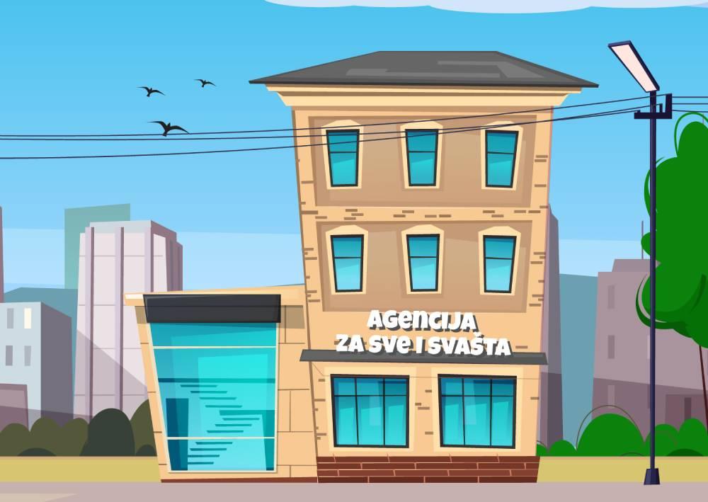 Ilustracija agencije za sve i svašta koja pokazuje da agencija za digitalni marketing treba da ima određenu nišu